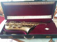 Vintage Tenor Saxophone