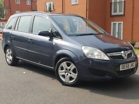 **2008 58 REG VAUXHALL ZAFIRA 1.9 DIESEL.ONLY 74K.AUTOMATIC.7 SEATER.MOT GREAT RUNNER PX WELCOME**