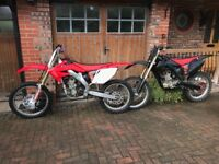 Honda crf 250 R 2006 motorcross bike not yzf or ktm