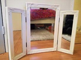 Triple Dressing Table White Mirror Argos