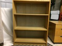 Bookcase. 80W x 28D x 106H (cms). Good condition. Solid construction.