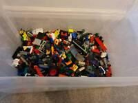 Assorted lego pieces