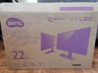 BENQ 22 inch monitor 1080p LED