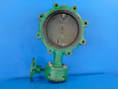 """DEMCO 8"""" Flange Style Manual Butterfly Valve"""