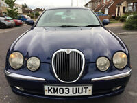 2003 JAGUAR S STYPE 3.0 AUTO LOOK AND DRIVE LIKE NEW/honda legand/toyota camry/mercedes e320/e300/
