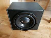Subwoofer, enclosure and Amp - 300w