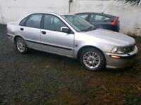2003 Volvo S40 Low miles 60k, Spares or repair Full leather