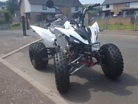 Road Legal Yamaha raptor 250 **special edition** 2010 plate