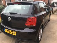 VW POLO 5DOOR BLACK 40,000MILES 11MONTHS MOT