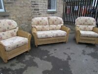 Quality Conservatory Set Including 2 Seater & 2 Chairs