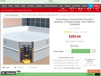 Square shower tray 900x900 for sale