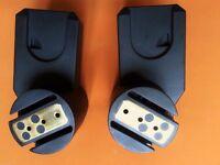 Quinny Zapp and Zapp Xtra / Xtra 2 Adaptors Set for Maxi Cosi Car Seat