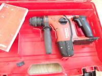 HILTI TE-6-A36 36 volt hammer drill