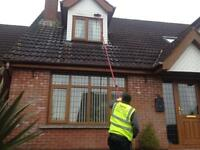 Window cleaning and outdoor maintenance