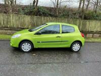 Renault Clio 1.2, ONE YEARS MOT, New Tyres, Unique Colour