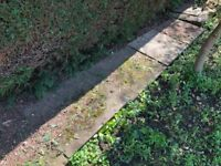FREE Concrete Paving Slabs 2ft x 2ft