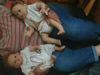 Reborn baby girl dolls