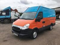 2012 iveco daily 2.3 hpi 35s11 mwb van only 70,000 miles full service history