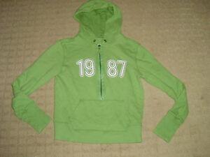 Women's Aeropostale Green Hoodie, size L