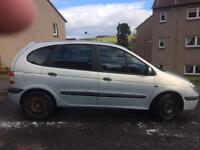 02 plate Renault megane scenic for sale or swap
