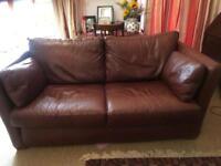 Multiyork 3 Seater Leather Sofa **** SOLD