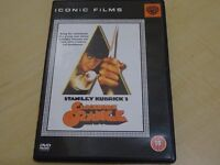 HALLOWEENS COMING!!! A CLOCKWORK ORANGE - DVD - PERFECT CONDITION