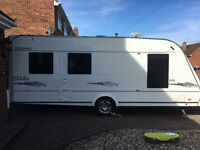 Fully equipped Elddis 505 5 berth caravan, everything to go, just you as extras