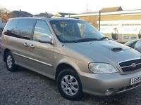 55 KIA SEDONA 3.0 DIESEL * 7 SEATER * IMMACULATE - PX WELCOME