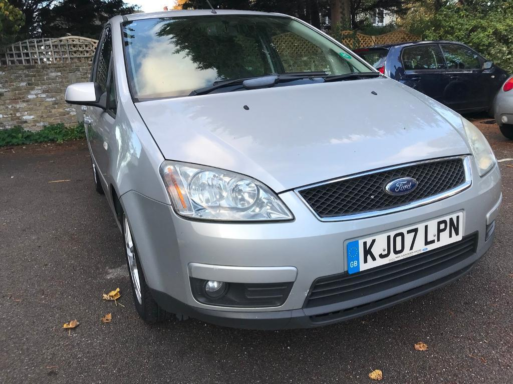 Ford Focus C-Max 1.6 TDCi Zetec 5dr FULL STAMPED SERVICE HISTORY FROM FORD MOT 12-MAR-2018