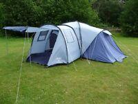 Superb Pod tent - Vango 800DLX - 8 man tent