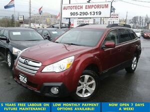 2014 Subaru Outback 3.6R Limited Navigation/Leather/Sunroof
