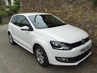 VW Polo 1.2 Match edition 2013 (63) reg