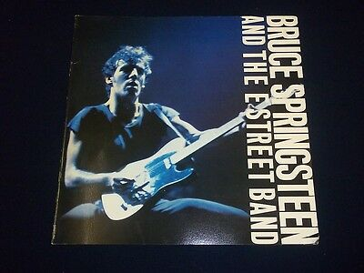 1980 BRUCE SPRINGSTEEN AND THE STREET BAND MUSIC PROGRAM GREAT PHOTOS - II 2003