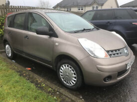 2009 Nissan Note 1.4 Visia **VERY LOW MILEAGE**