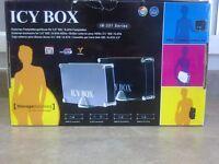 "ICY BOX IB-351 Series - Ext. enclosure for hard drive 3.5"" IDE/S-ATA HDDs WINDOWS & MAC compatible"