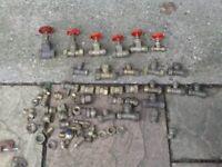brass plumbing bits