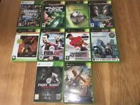 Bundle Of Xbox Games