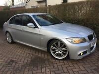2009 59 BMW 320D*M SPORT*BUSINESS EDT'N STEP**AUTO**HUGE SPEC*LEATHER*SAT-NAV*H/SEATS*#530d