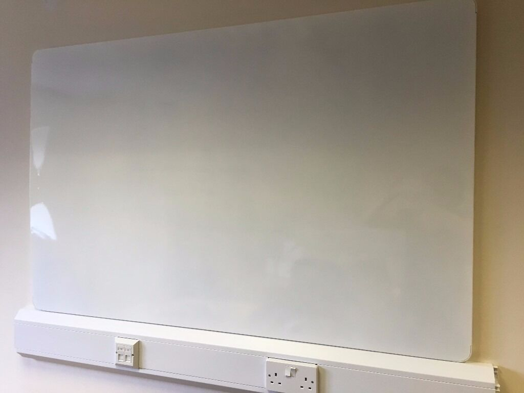 whiteboard magnetic board 2 available in cardiff gumtree. Black Bedroom Furniture Sets. Home Design Ideas