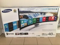 Samsung UE48J6300 48 Inch Full HD FreeviewHD Smart Curved TV