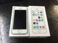 iphone 5s gold 64gb Bargain with original receipt unlocked