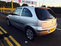 Vauxhall corsa 1.0 10 month mot 12 month tax full service history lady owner £595