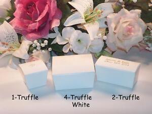 Shop Online:  Truffle Boxes for Your Wedding & Special Events - Make Your Own Favours