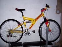 suspension mountain bike