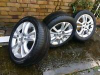 Vauxhall Corsa D Alloy full set