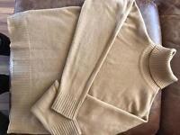 Johnstons of Elgin for harrods 100% cashmere polo neck
