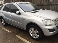 Mercedes ML 300cdi 2010 fully loaded Bargain £ 10,299