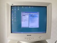 "Philips 107S 17"" CRT Computer Colour Monitor"