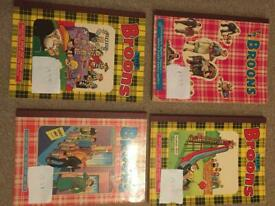 Selection of old Orr Willie and broons books £50