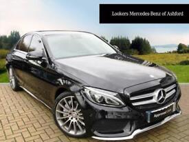 Mercedes-Benz C Class C250 D AMG LINE PREMIUM PLUS (black) 2015-11-10